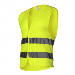 HIGH VISIBILITY SLEEVELESS JACKETS