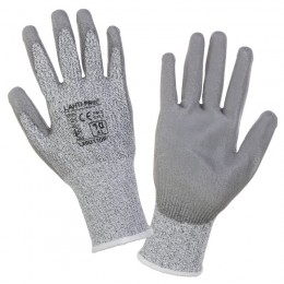 GLOVES WITH INCREASED LEVEL OF BLADE CUT RESISTANCE