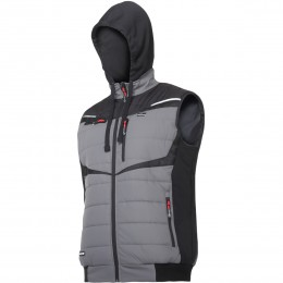 PADDED VESTS WITH HOOD