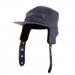 PADDED CAP WITH FLAPS