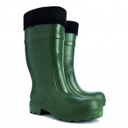 HIGH WELLINGTONS WITH PADDING