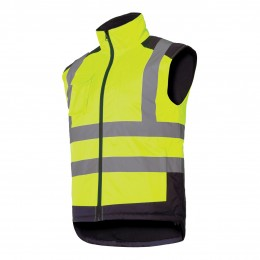 HIGH VISIBILITY PADDED REVERSIBLE VESTS