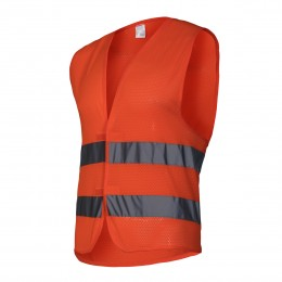 MESH VESTS WITH REFLECTIVE STRIPS