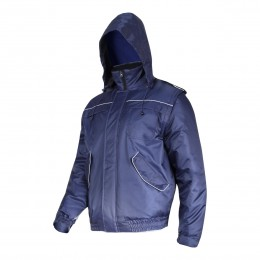 PADDED JACKETS WITH DETACHABLE SLEEVES