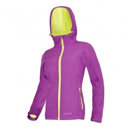 LADIES' SOFT-SHELL HOODED JACKETS