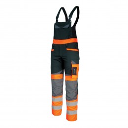 HIGH VISIBILITY BIB PANTS, SLIM FIT, SLIM FIT