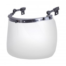FACE SHIELD FOR ATTACHING TO INDUSTRIAL HELMETS (L10401)