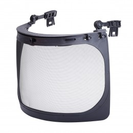 MESH FACE SHIELD FOR ATTACHING TO INDUSTRIAL HELMETS (L10401)