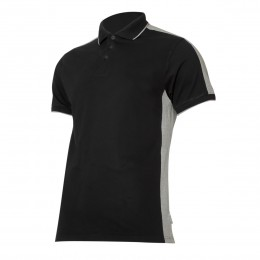 POLO SHIRTS BLACK-GREY