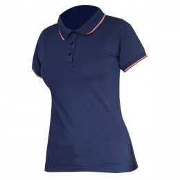 LADIES' POLO SHIRTS NAVY BLUE