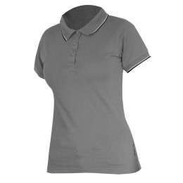 LADIES' POLO SHIRTS GREY