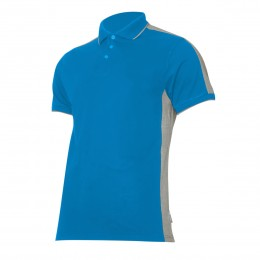 POLO SHIRTS BLUE-GREY