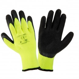 LATEX COATED PADDED PROTECTIVE GLOVES