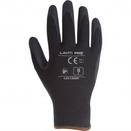 NITRILE COATED PADDED PROTECTIVE GLOVES