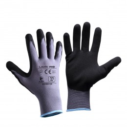 SANDY NITRILE COATED PROTECTIVE GLOVES