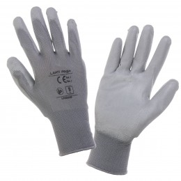 PU COATED PROTECTIVE GLOVES