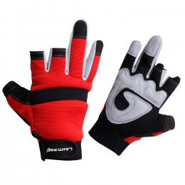 TWO-FINGER ANTI-CARD PADDED PROTECTIVE GLOVES