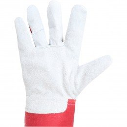 PADDED BOVINE LEATHER PROTECTIVE GLOVES