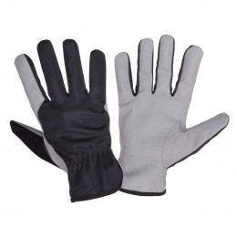 SYNTHETIC LEATHER PROTECTIVE GLOVES