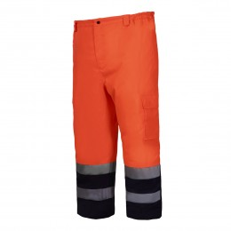 HIGH VISIBILITY PADDED TROUSERS