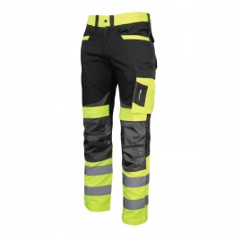 HIGH VISIBILITY TROUSERS, SLIM FIT, SLIM FIT
