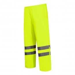 HIGH VISIBILITY RAIN TROUSERS