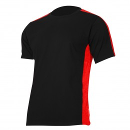 T-SHIRTS BLACK-RED