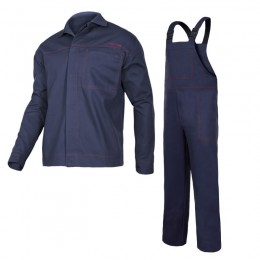 ANTISTATIC WELDING CLOTHES - SET (JACKET, BIB PANTS)