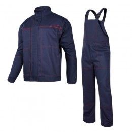 STRENGTHENED WELDING CLOTHES - SET (JACKET, BIB PANTS)