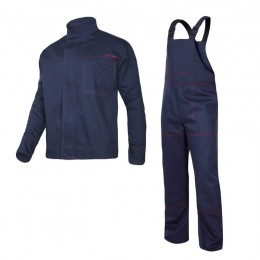 WELDING CLOTHES WITH REINFORCED CUFFS - SET (JACKET, BIB PANTS)